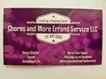Chores and More Errand Service LLC