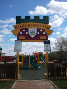 Entrance to Kid's Kingdom Playground